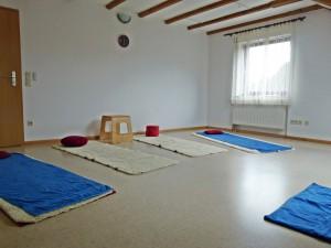 Yoga-Kursraum